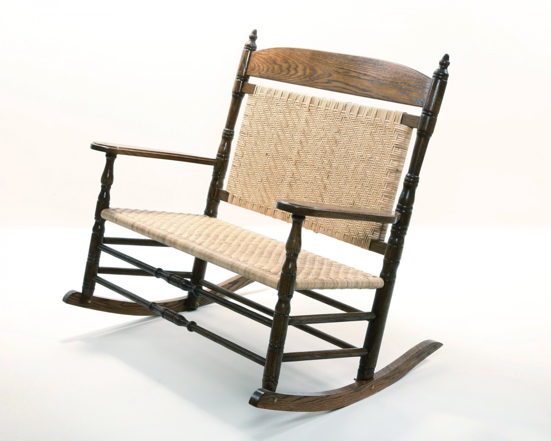 The Brumby Chair Company Courting Rocking Chair